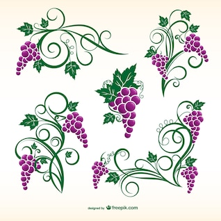 Grapevine ornaments