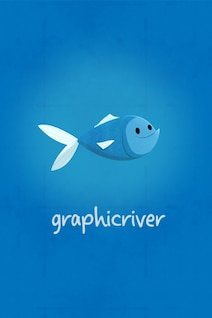 Graphic river fish