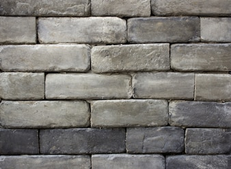 Gray brick wall texture background