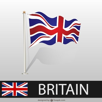 Great Britain vector flag free for download