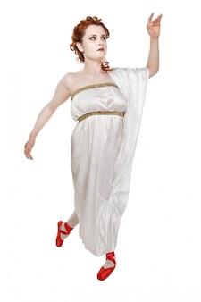 Greek girl dancing