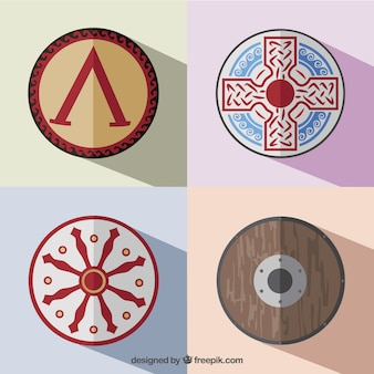 Greek shields