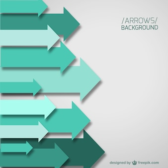 Green arrows template