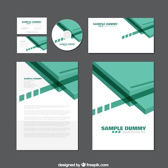 Green corporate identity