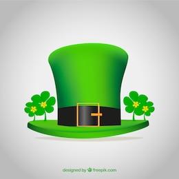 Green hat for st patricks day
