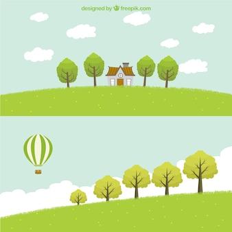 Green landscapes