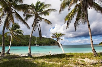 Grenadines anchorage caribbean