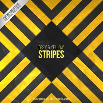Grey and yellow stripes background