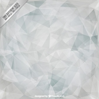 Grey polygonal triangles background