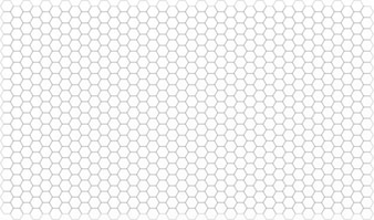 Grid hexagon pattern playing map game paper well