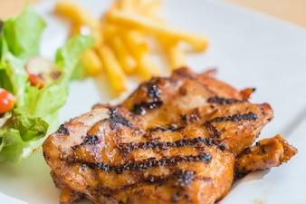 Grill chicken steak