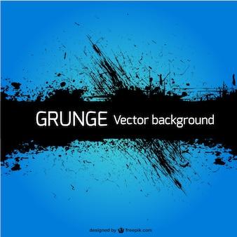 Grunge blue vector background