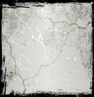 Grunge metallic wall background