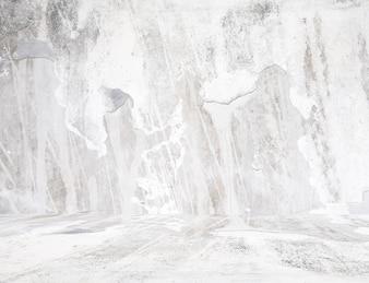Grunge white room.