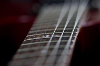 ギターのネックは、フォーカス
