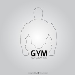 Gym club logo