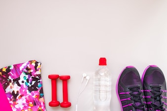 Gym workout running ba clothes