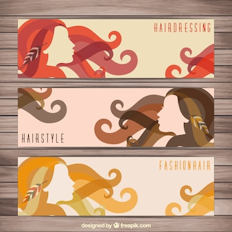 Hairdressing banners