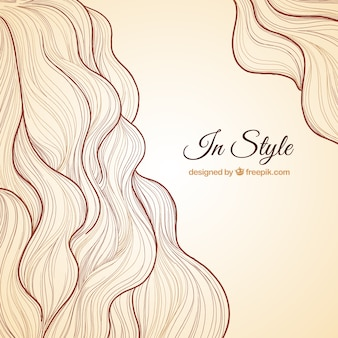 Hairstyle background