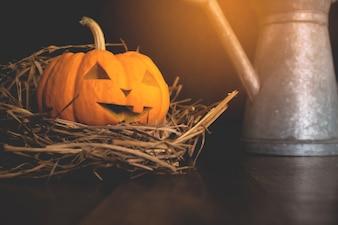 かぼちゃとハロウィーンのコンセプト