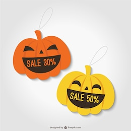 Halloween discount tags