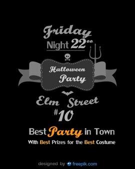 Halloween Flyer Best Party Template