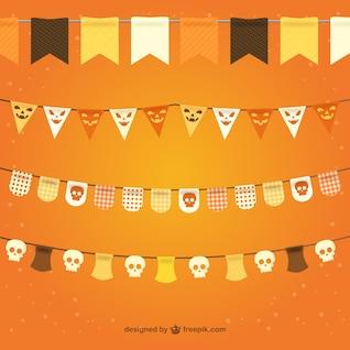 Halloween garlands pack