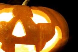 halloween pumpkin , isolated
