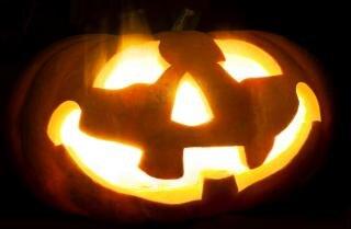 halloween pumpkin  one