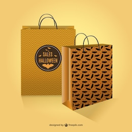 Halloween sales shopping bags