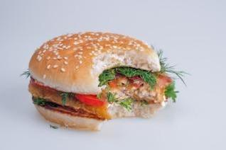 hamburger  fresh