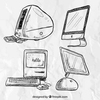 Hand drawn computers