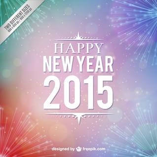 Happy 2015 vector