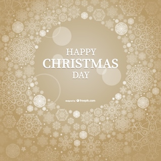 Happy Christmas Day vector