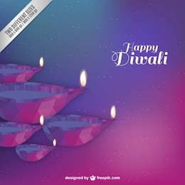 Happy Diwali abstract background