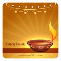 Happy diwali celebration background
