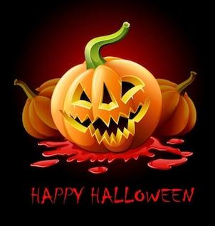happy halloween vector graphic