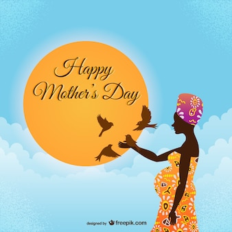 Happy mother's day african style