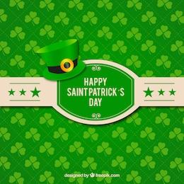 Happy St Patrick card