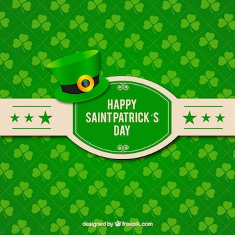 Happy St Patrick card