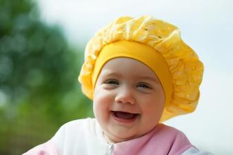 Happy toddler