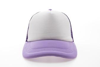 Hat visor textile sign background