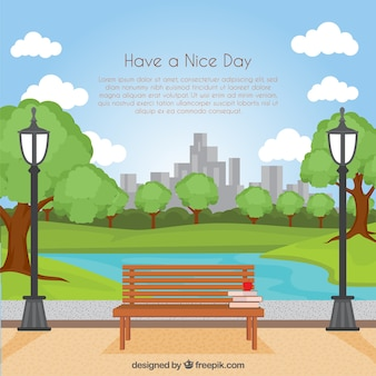 Have a nice day background
