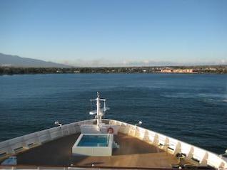hawaii cruise  sunset