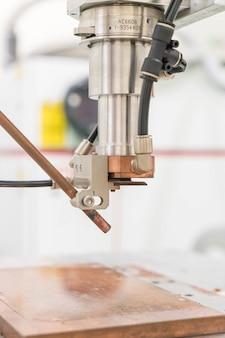 Head of laser cutting machine