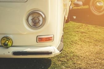 Лампа фары ретро классического автомобиля винтажный стиль