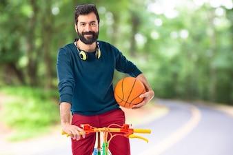 Health portrait natural biking adult