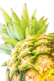 healthy eating , eating, ananas