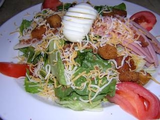 Healthy salads, lettuce