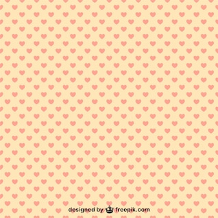 Hearts pattern illustration